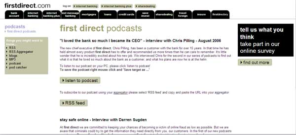 Firstdirectpodcasts